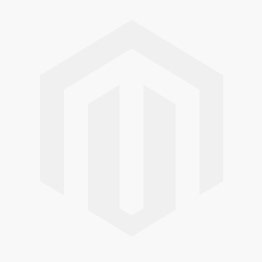 Luxe Luxe 9ct White Gold 2 Row Heart Bracelet